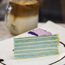 Lavender Crepe Cake 🌾
