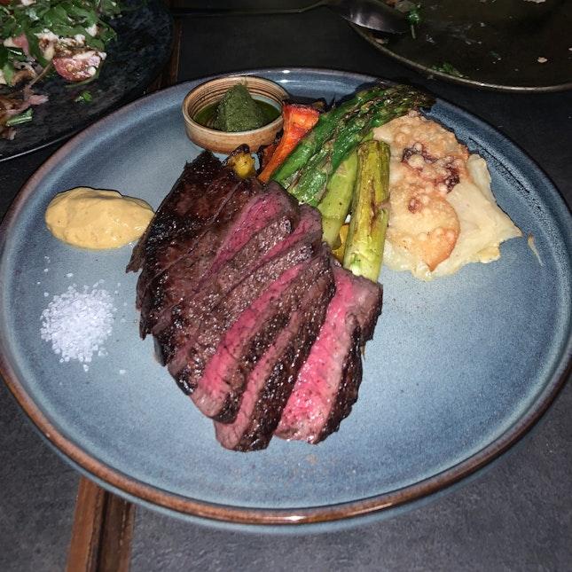 a4 wagyu rump steak, japan