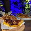 Beef Quesadilla 🌮 & Chicken Burrito 🌯