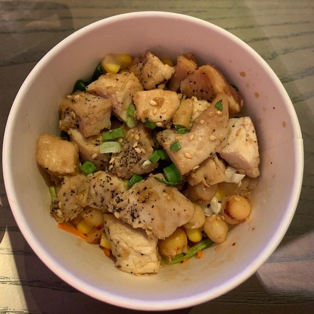 Soy Chicken bowl