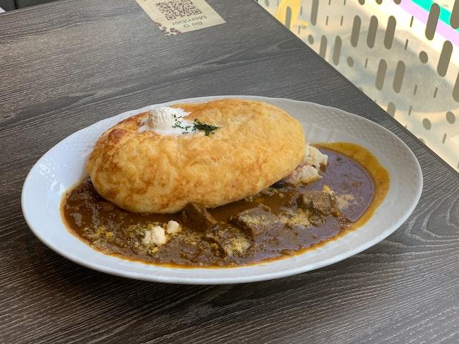 Omu Soufflé Curry Rice