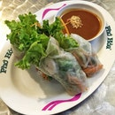 Refreshing & healthy spring roll from Pho Hoa.