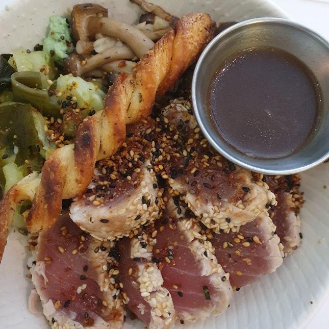 Seared Tuna Bowl ($14+)