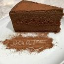 Dark Chocolate Cake ($8.80/slice)