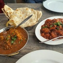 Naan And Masala Chicken