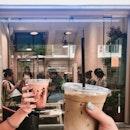 Iced Mocha & Iced Hōjicha Latte