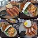 Pulled Pork 🌮 Taco & Chicken Waffles 🧇
