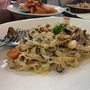 Chicken Truffles Pasta
