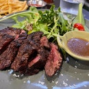 Charcoal Grilled Whisky Ribeye | $26.00