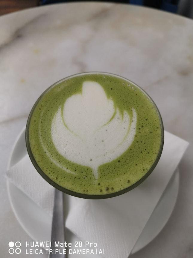 Matcha Latte (oatmilk)
