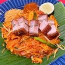 Pad Thai Crackling Pork Belly