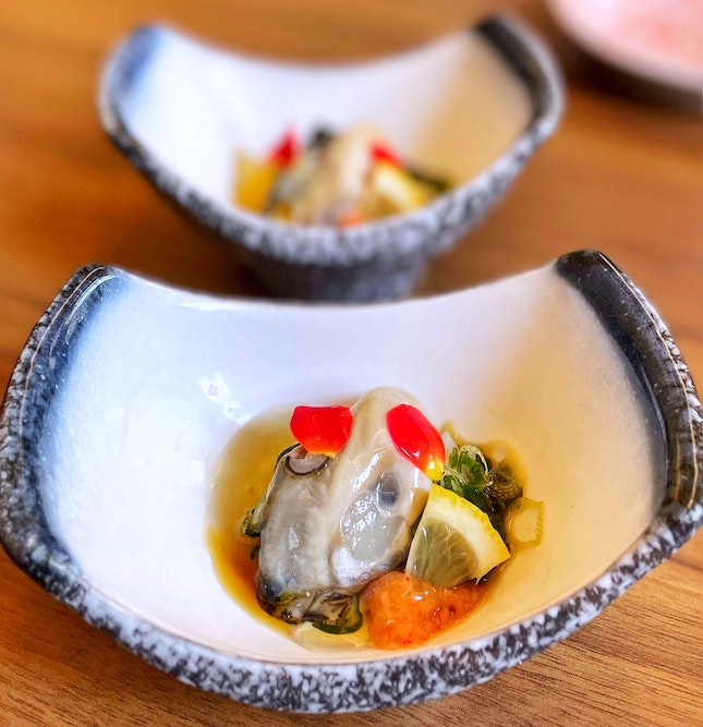 Oyster With Vinegar