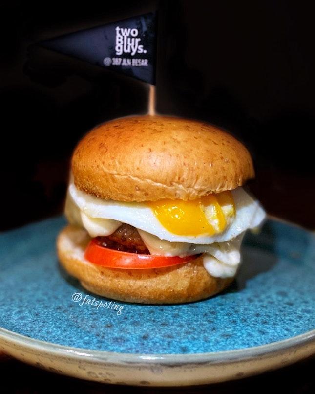 Truffle Egg Burger