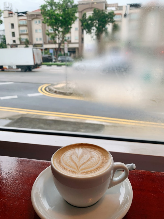 Salted Caramel Latte ($7)