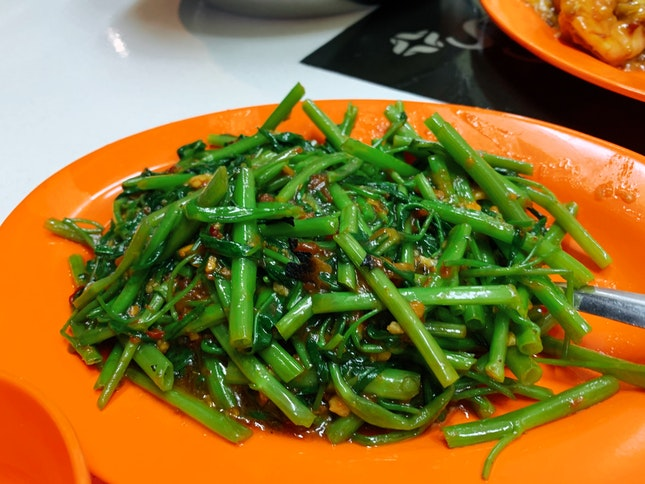 Sambal Kang Kong ($6)