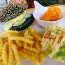 Charcoal Chicken Burger ($16.50)