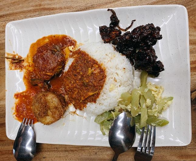 Nasi Padang ($8.60)