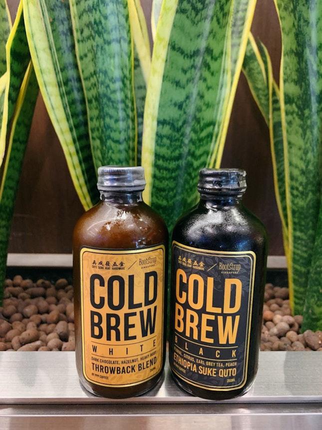 Cold Brew Black ($7.50) & White ($8.50)