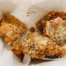 Honey Garlic Dak Gangjeong Fried Chicken ($34.13 For 12)