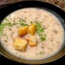 Mushroom Soup ($6++)