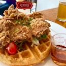 Chicken Waffles ($19)