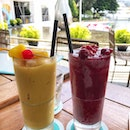 Mango Passionfruit Smoothie & Berry Banana Smoothie | $10 Each