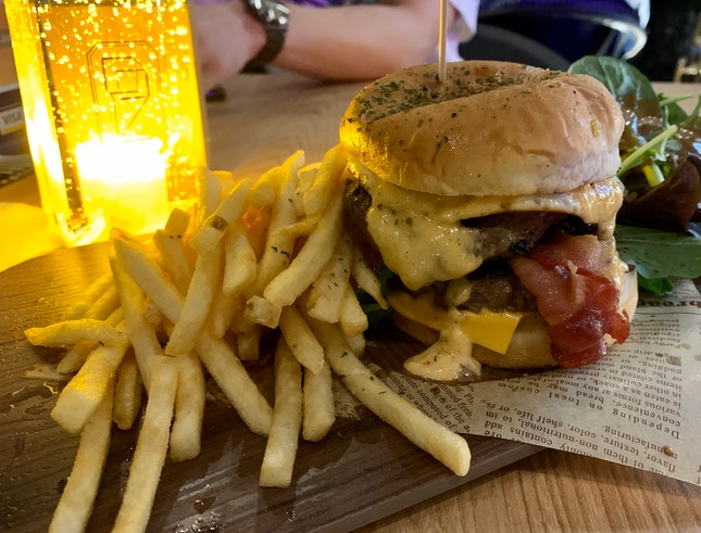 Da Bomb Gourmet Burger   $22