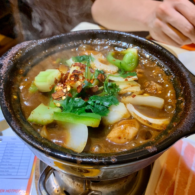 Signature Chicken Hotpot (Small, Mildly Spicy) | $17.80