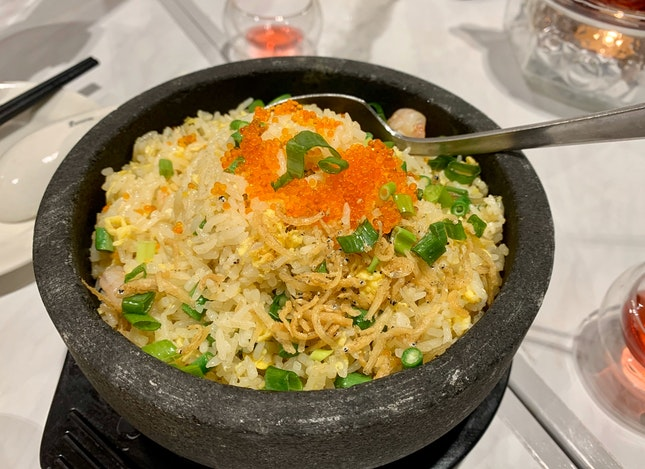 Shrimps Fried Rice With Ebiko | $14.90