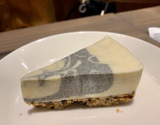 Black Sesame Cheesecake | $6.50