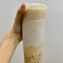 Earl Grey Soy Milk W/ Honey Pearls (L) | $4.20