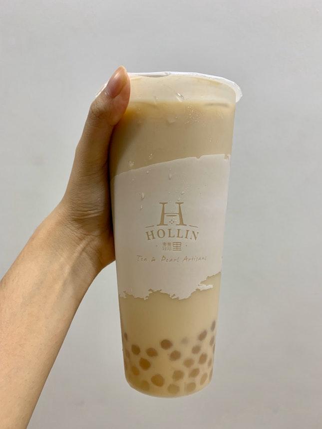 Earl Grey Soy Milk W/ Honey Pearls (L) | $4.20