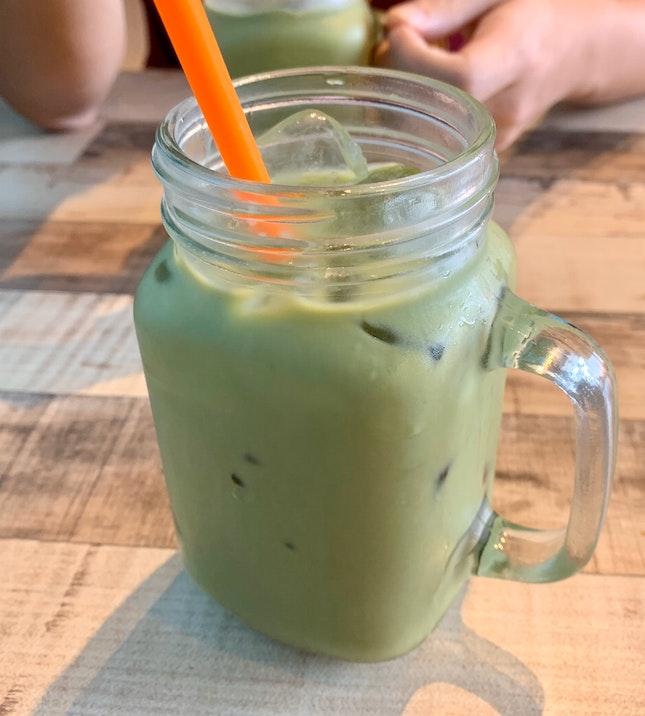 Iced Thai Green Milk Tea | $2.90
