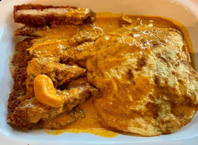 Chicken Cutlet Curry | $6.80
