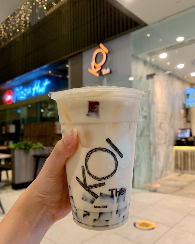 Vani Coffee Green Milk Tea (M) | $4.70