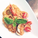 Marinara - Seafood Risotto in Light Tomato Sauce
