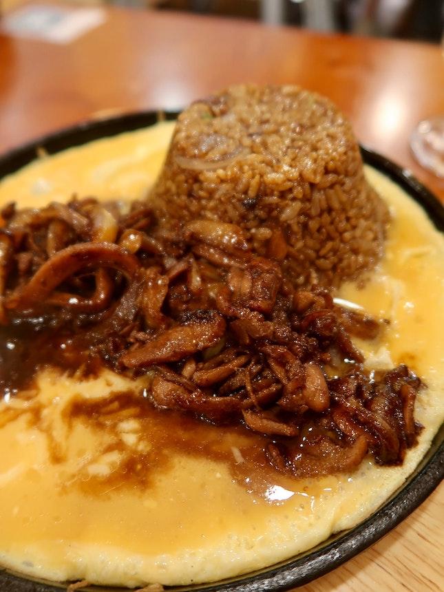 Volcano Rice w Chicken