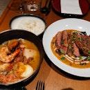 Iberico Pork red curry + ramen (2nd)