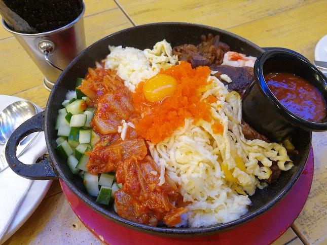 Hot Plate Bibimbap