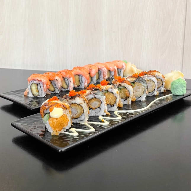50% off maki rolls every Wednesday!!