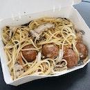 plant-based meatballs!