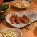 The best Yakitori place I've been to