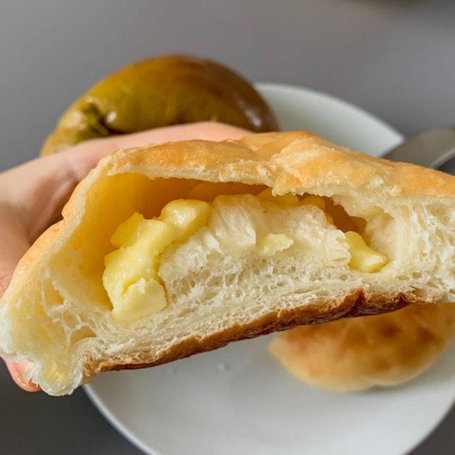 chewy cheese bun!!