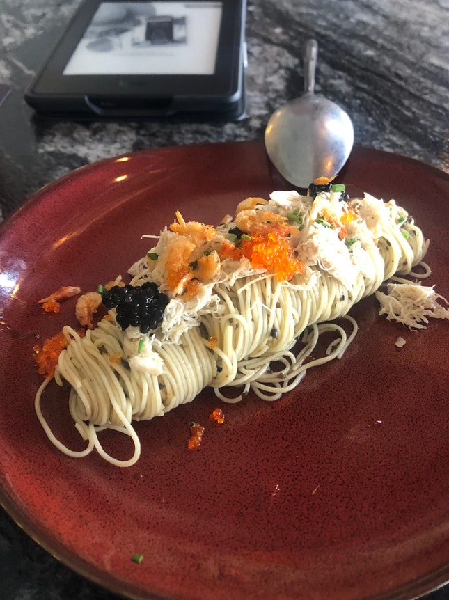 Truffled Crab Pasta