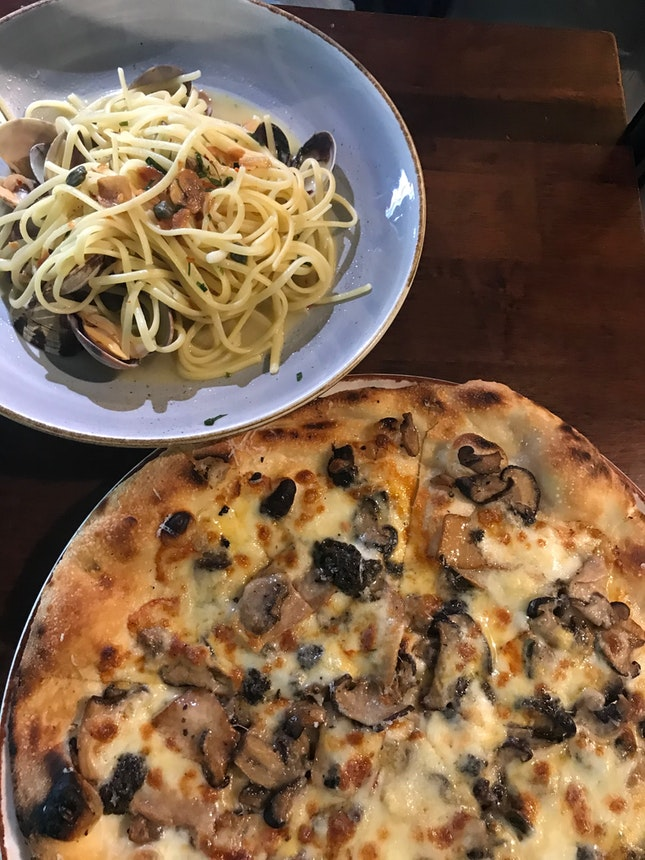 Mixed Mushroom Pasta ($26)