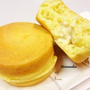 Today's breakfast is Caramel Custard Pamcake S$1.50 & Peach Cream Cheese Pancake S$1.80