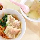 Dumpling noodles today!