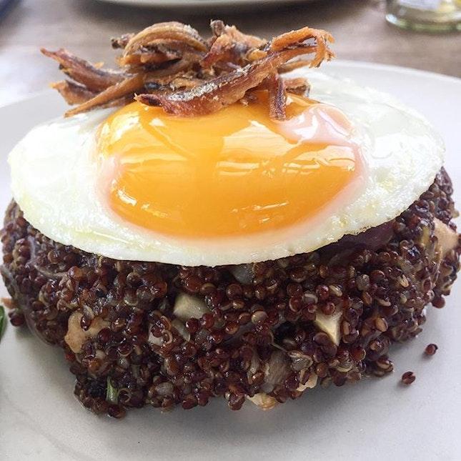 #quinoa goreng for lunch.
