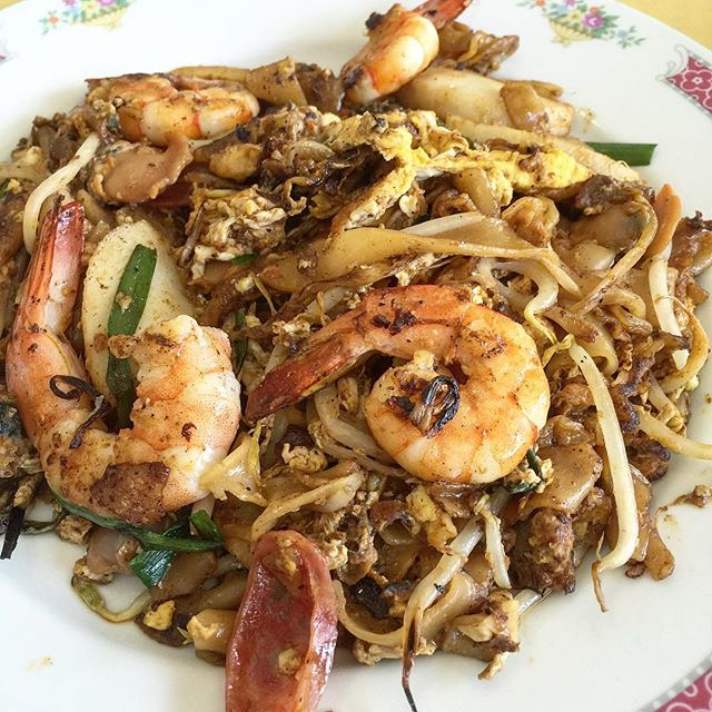 Old school Char Kway Teow.