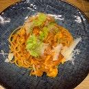 Crab Pomodoro Pasta